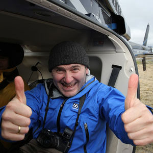 Thumbs up for the aerial photography workshop