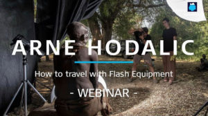 Better Moments webinar about How to travel with flash equipment by Arne Hodalic