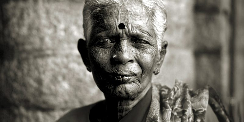 Woman in Bangalore