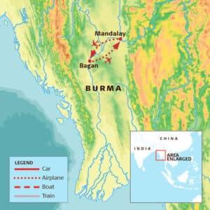 Better Moments - Map Burma-workshop