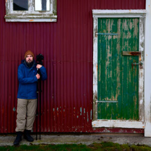 Passionate Photographer Tommaso Colombino during our Better Moments Iceland workshop