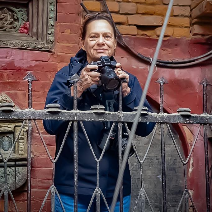 Jagoda Høst on the Nepal and Tibet workshop, here in Kathmandu