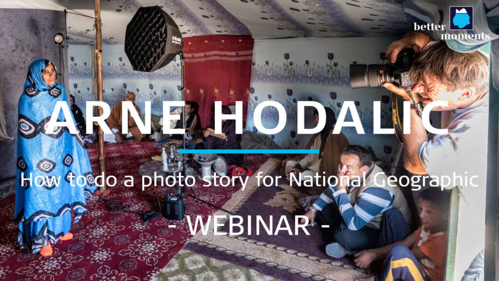 Thumbnail webinar with Arne Hodalic