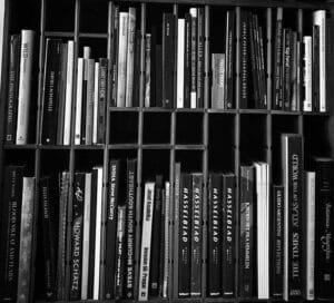 Christian's bookshelf