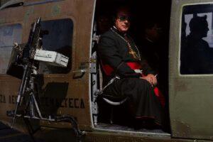 Pastor in a chopper