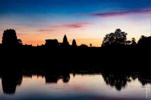 Better Moments Indochina - sunset at Angkor Wat