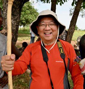 Better Moments traveler Joe Lam in Ethiopia