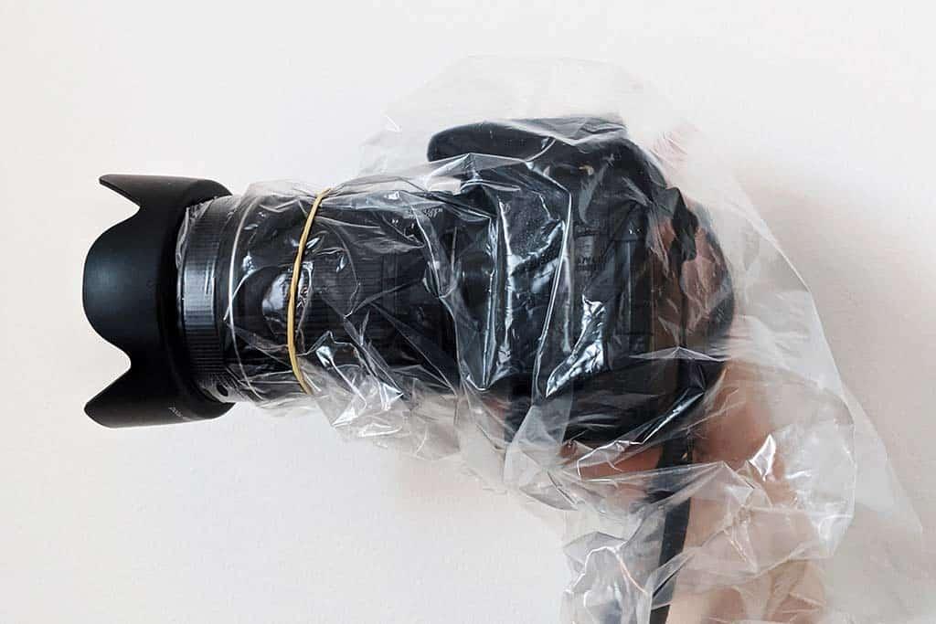 Easy DIY Camera Rain Cover