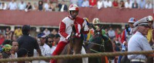 Jockey at Palio di Siena